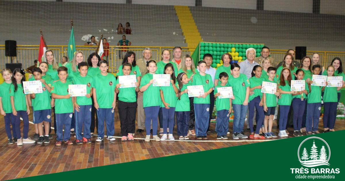 PUMA forma 217 estudantes de escolas municipais em Três Barras