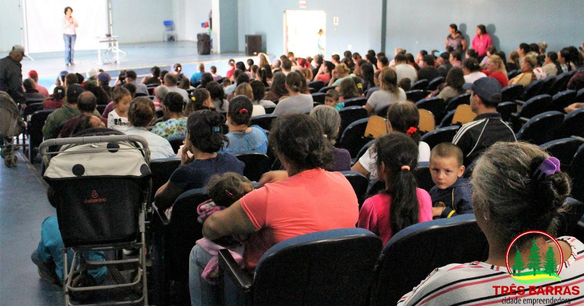 Rede retoma encontros mensais com beneficiários de programas sociais em Três Barras