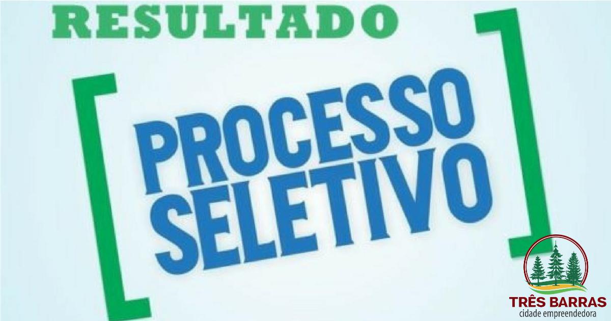 Resultado Preliminar do Processo Seletivo Para a Contratação de  Profissionais de Saúde 7eb540e4088be