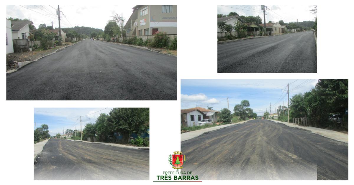 Rua Santo Antônio, no São Cristóvão, recebe asfalto numa extensão de 286 metros lineares