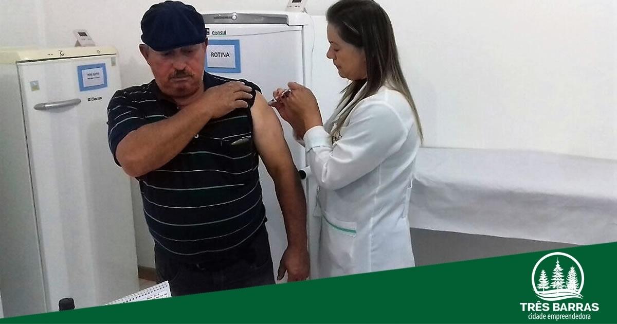 """É sábado: Dia """"D"""" contra a Gripe terá vacinação em todas as unidades de saúde"""