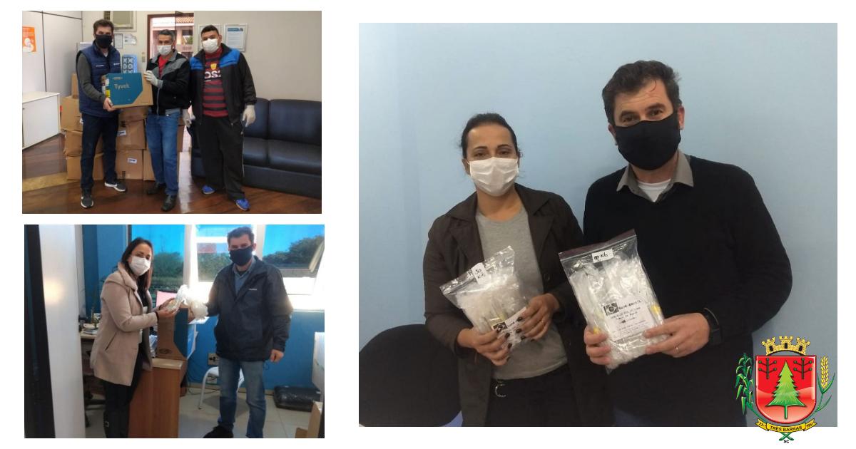 Saúde de Três Barras já recebeu 530 kits de exames RT-PCR da WestRock