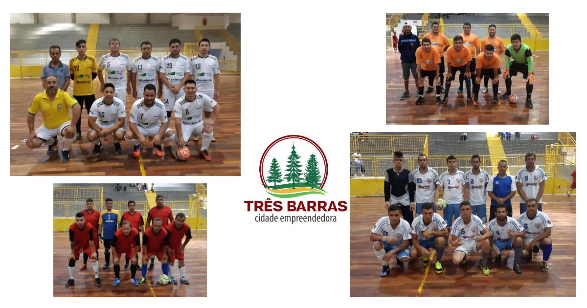 + Saúde e Serrana vencem pela segunda rodada do Campeonato Interno de Futsal