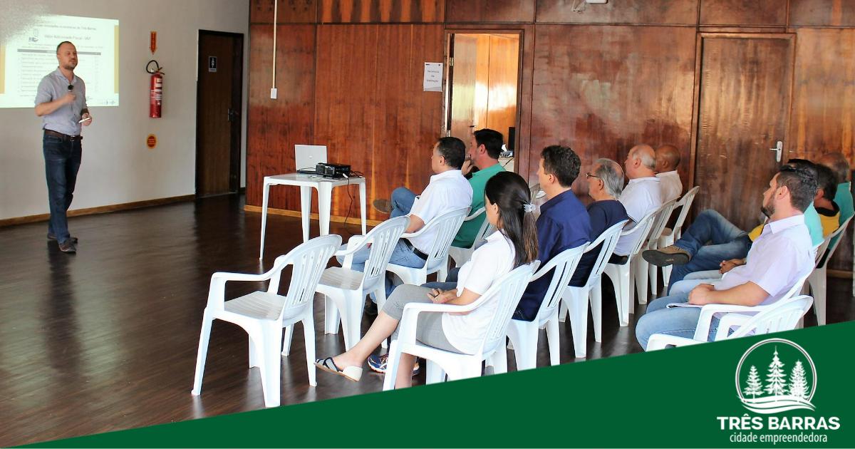 Sebrae/ SC apresenta à prefeitura a versão online do PEDEM de Três Barras