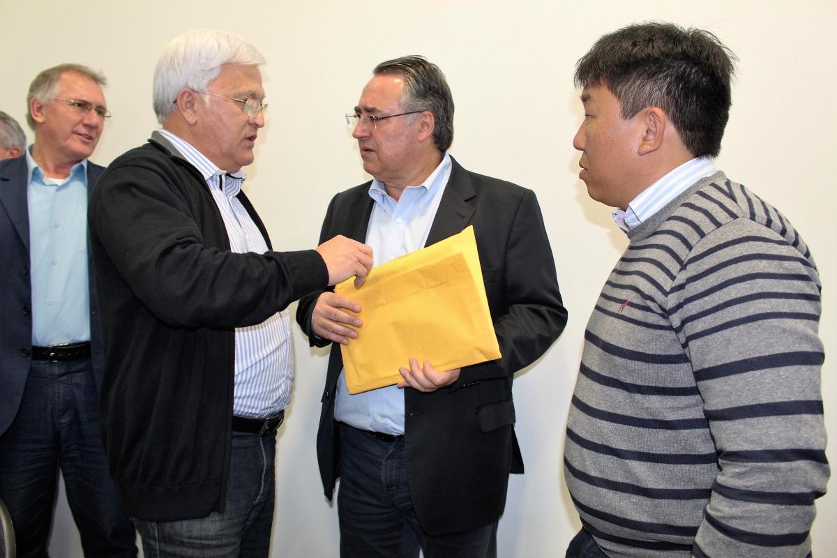 Shimoguiri e Nagano oficializam novo pedido de recursos para a construção de desvio em Três Barras