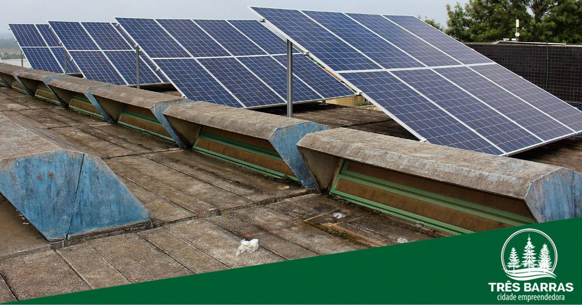 Sistema que produz energia solar entra em funcionamento na escola João Pacheco de Miranda Lima (Caic)
