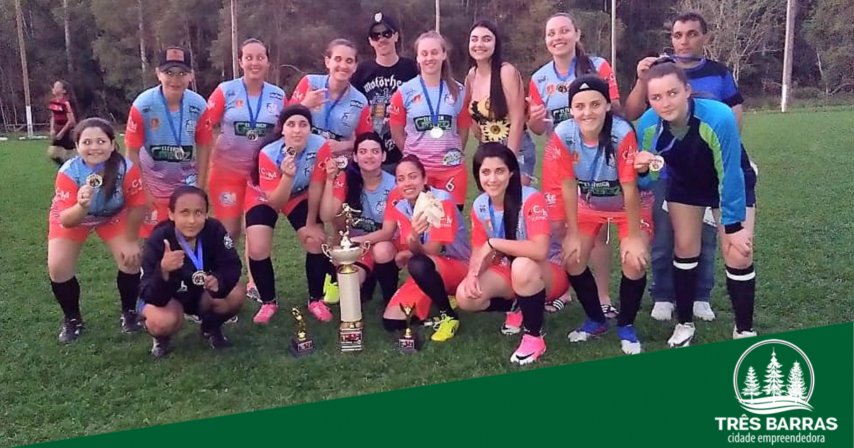 Suíço Feminino: Goleada dá título ao Três Barras no campeonato Ninho do Urubu