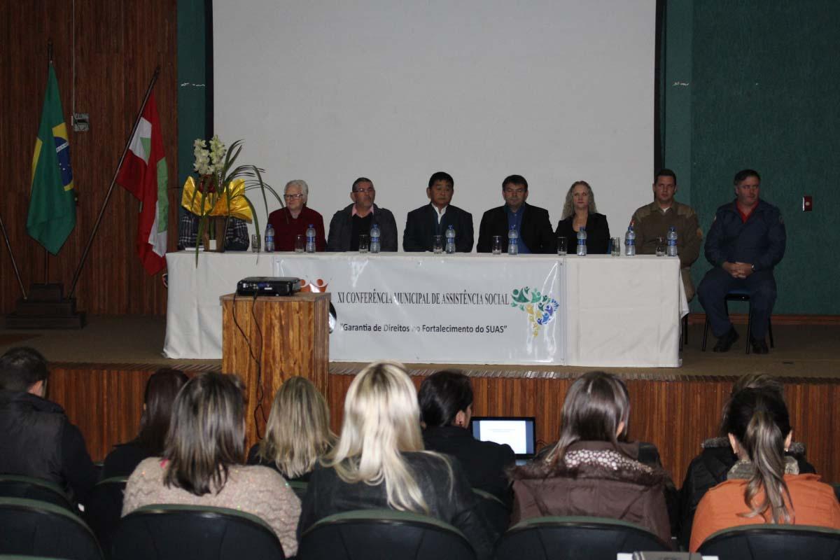 Três Barras define propostas e delegados durante Conferência Municipal de Assistência Social