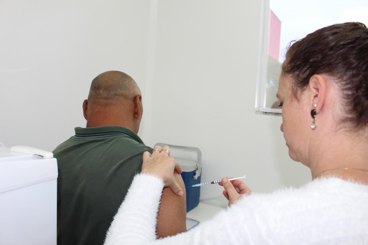 Três Barras está a 2,55% de atingir a meta de vacinação contra a gripe