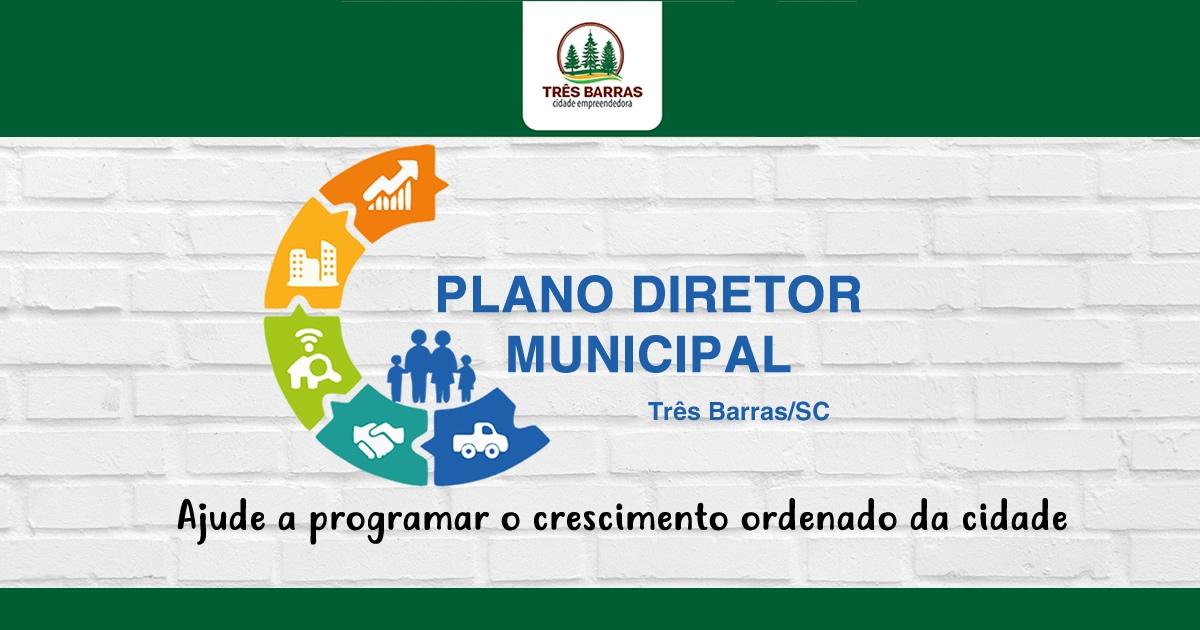 Três Barras realiza chamamento público para formar Comissão do Plano Diretor Municipal