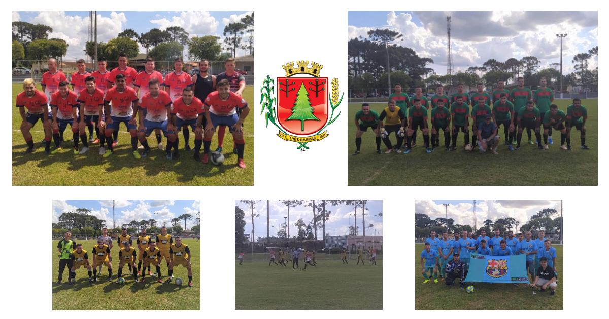 União Três Barras e Central vencem pela segunda rodada do Campeonato Municipal de Futebol