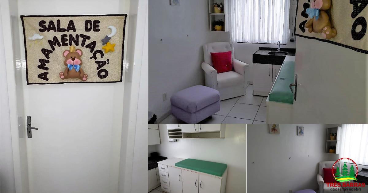 Unidade de Saúde Dr. Mário Mussi oferece sala de atendimento às puérperas