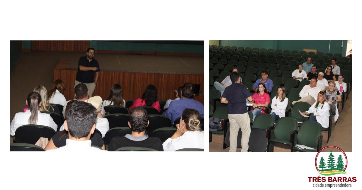 Vacinação contra a Febre Amarela pauta reunião entre médicos e enfermeiros em Três Barras